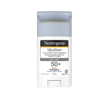 Ultra Sheer Face & Body Stick Sunscreen SPF 50+, 42 g