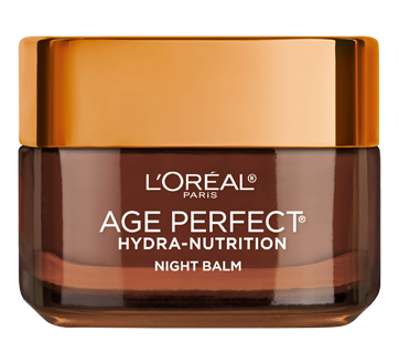 Image 2 of product L'Oréal Paris - Age Perfect Hydra-Nutrition Ultra-Nourishing Night Face Cream, for Mature, Very Dry Skin, Anti-Aging, 50 ml, Manuka Honey + Precious Oils