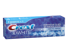 Image of product Crest - 3D White Whitening Toothpaste, 75 ml, Artic Fresh