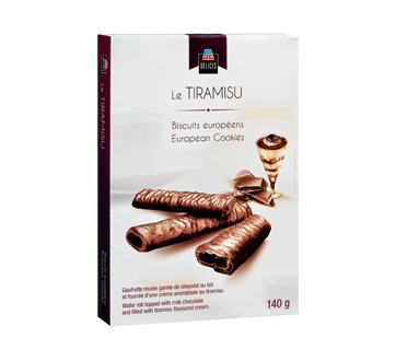 Image of product PJC Délices - Le Tiramisu European Cookies, 140 g