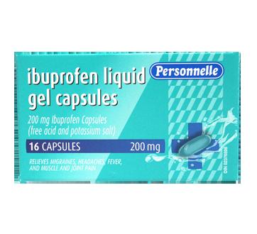Image of product Personnelle - Ibuprofen Liquid Gel, 16 units
