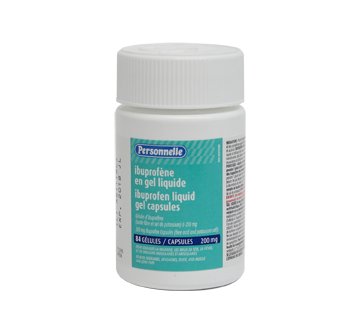 Image of product Personnelle - Ibuprofen Liquid Gel Capsules 200 mg, 84 units
