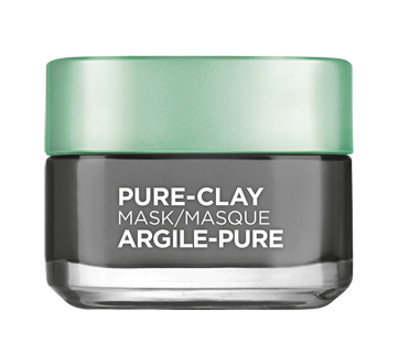 Face Mask with 3 Mineral Clays + Charcoal, 50 ml
