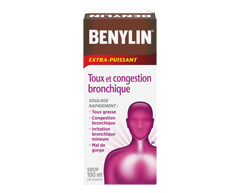 Image of product Benylin - Benylin Cough and Chest Congestion Extra-Strength Syrup, 100 ml