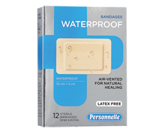 Image of product Personnelle - Bandages Waterproof, 12 units