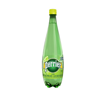 Natural Carbonated Water, 1 L, Lime