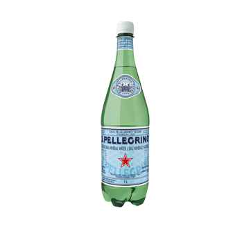Carbonated Natural Mineral Water, 1 L