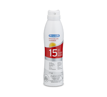 Sunscreen FPS 15 Spray, 177 ml, Fresh scent