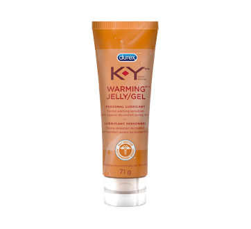 Image of product K-Y - Warming Jelly Personal Lubricant, 71 g