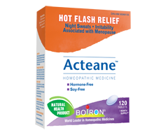 Image of product Boiron - Acteane Homeopathic Medicine Hot Flash Relief, 120 tablets