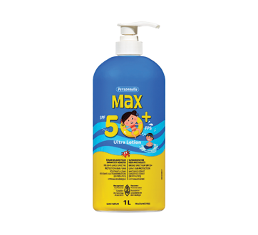 Image of product Personnelle - Max Sunscreen SPF 50+, 1 L