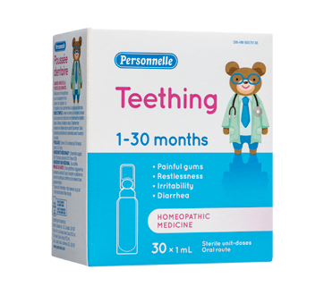 Image of product Personnelle - Teething, 30 x 1 ml