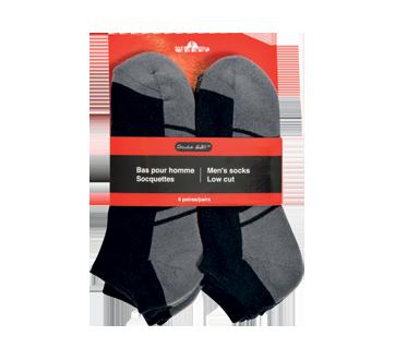 Men's Low Cut Socks, 6 units