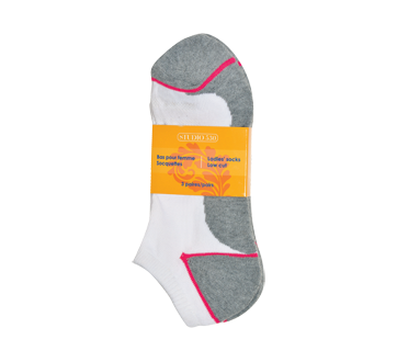 Ladies' Low Cut Socks, 3 units