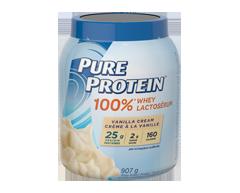 Image of product Pure Protein - 100% Whey Protein Powder, 907 g, Vanilla Cream