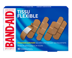 Image of product Band-Aid - Flexible Fabric Adhesive Bandages Value Pack, 80 units