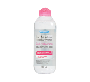 Image 1 of product Personnelle - Micellar Water, 400 ml