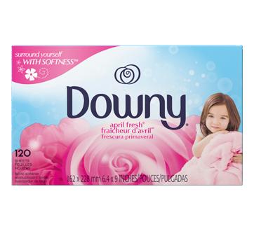 Fabric Softener Dryer sheets, 120 units, April Fresh