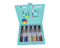 Image of product Suncoatgirl - Colour Creation Kit-Creat Your Own Nail Polish Colour, 8 units