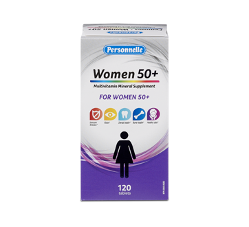 Image of product Personnelle - Multivitamin Mineral Supplement for Women 50+, 120 units