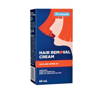 Hair Removal Cream for Face and Upper Lip, 60 ml