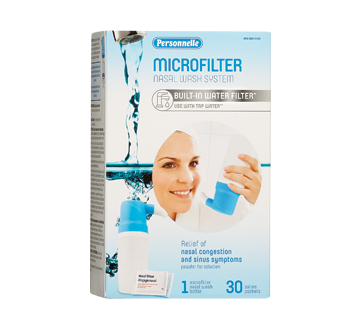 Image of product Personnelle - Microfilter Nasal Wash System, 1 unit