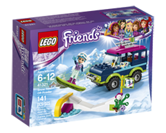 Image of product Lego - Lego Friends Snow Resort Off-Roader, 1 unit