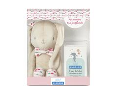 Image of product Klorane - L'Eau de Bébé with a Pink Bunny Set, 50 ml