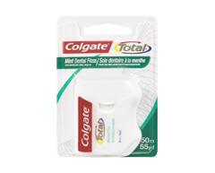 Image of product Colgate - Colgate Total Dental Floss, 50 m, Mint