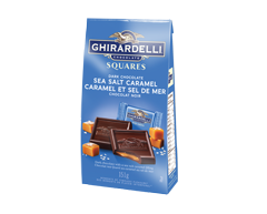 Image of product Ghirardelli - Dark Chocolate Squares, 151 g, Caramel and Sea Salt