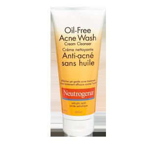 Oil-Free Acne Wash Cream Cleanser, 200 ml – Neutrogena : Cleanser
