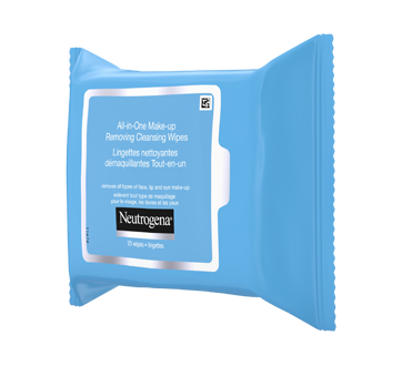 Image 7 of product Neutrogena - All-in-One Make-up Removing Cleansing Wipes, 25 units