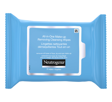 Image 8 of product Neutrogena - All-in-One Make-up Removing Cleansing Wipes, 25 units