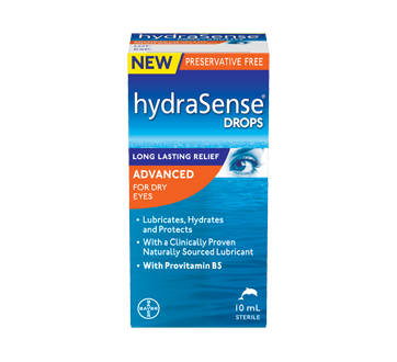 Image of product HydraSense - Advanced Drops for Dry Eyes, 10 ml