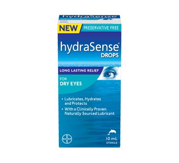 Image of product HydraSense - Drops for Dry Eyes, 10 ml