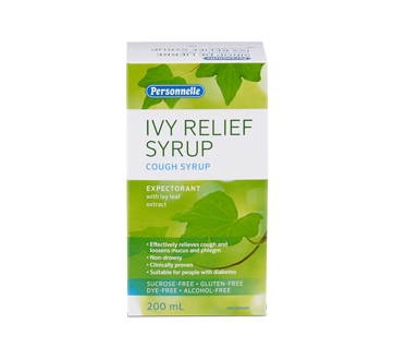 Image of product Personnelle - Ivy Relief Syrup, 200 ml