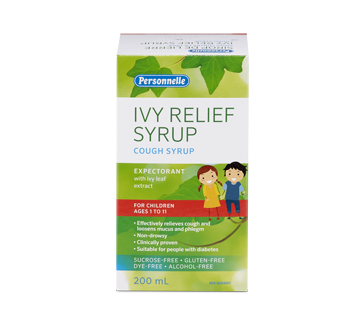 Image of product Personnelle - Ivy Relief Syrup Children Ages 1 to 11, 200 ml