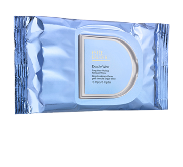 Double Wear Long-Wear Makeup Remover Wipes, 45 units