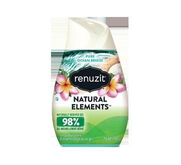 Natural Elements Gel Air Freshener, 198 g, Pure Ocean Breeze