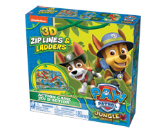 Image of product Paw Patrol - 3D Snake & Ladders Game, 1 unit