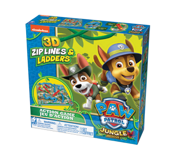 Image of product Paw Patrol - 3D Snake   Ladders Game 5b215440606e