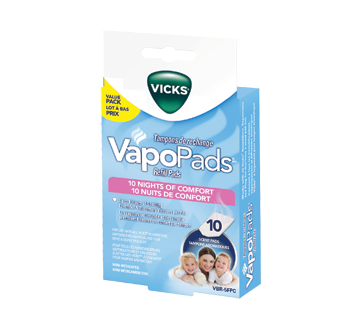 Image of product Vicks - VapoPads Refill Pads, 5 units, Lavender and Rosemary