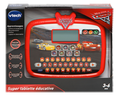 Image of product Vtech - Cars 3 Learning Tablet, 1 unit
