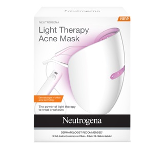 Light Therapy Acne Mask – Neutrogena : Pimples or acne
