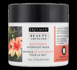 Brightening Overnight Mask, 114 g, Hibiscus and Vitamin C