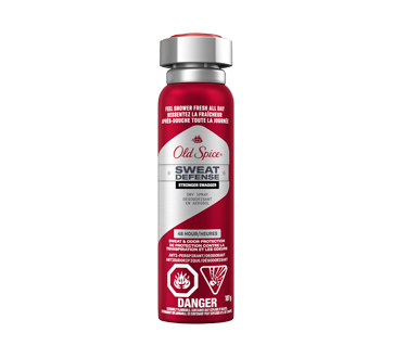 Image of product Old Spice - Old Spice Sweat Defense Dry Spray Antiperspirant and Deodorant for Men, 107 g, Swagger