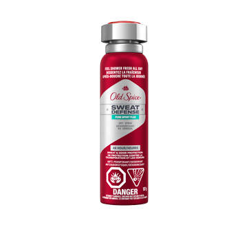 Old Spice Sweat Defense Dry Spray Antiperspirant and Deodorant for Men, 107 g, Pure Sport