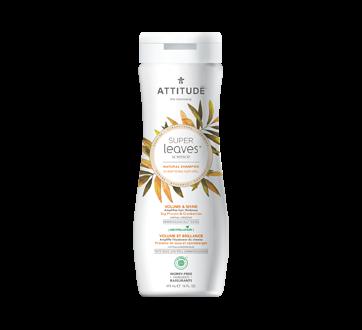 Super Leaves Volume & Shine Natural Shampoo, 473 ml