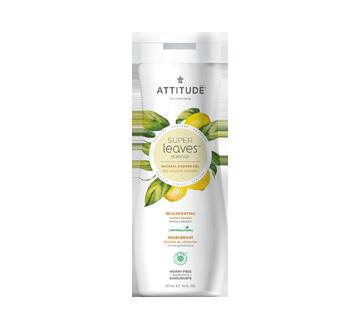 Super Leaves Natural Regenerating Shower Gel, 473 ml