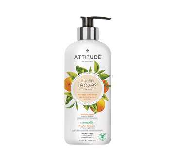 Super Leaves Natural Hand Soap, 473 ml, Orange Leaves